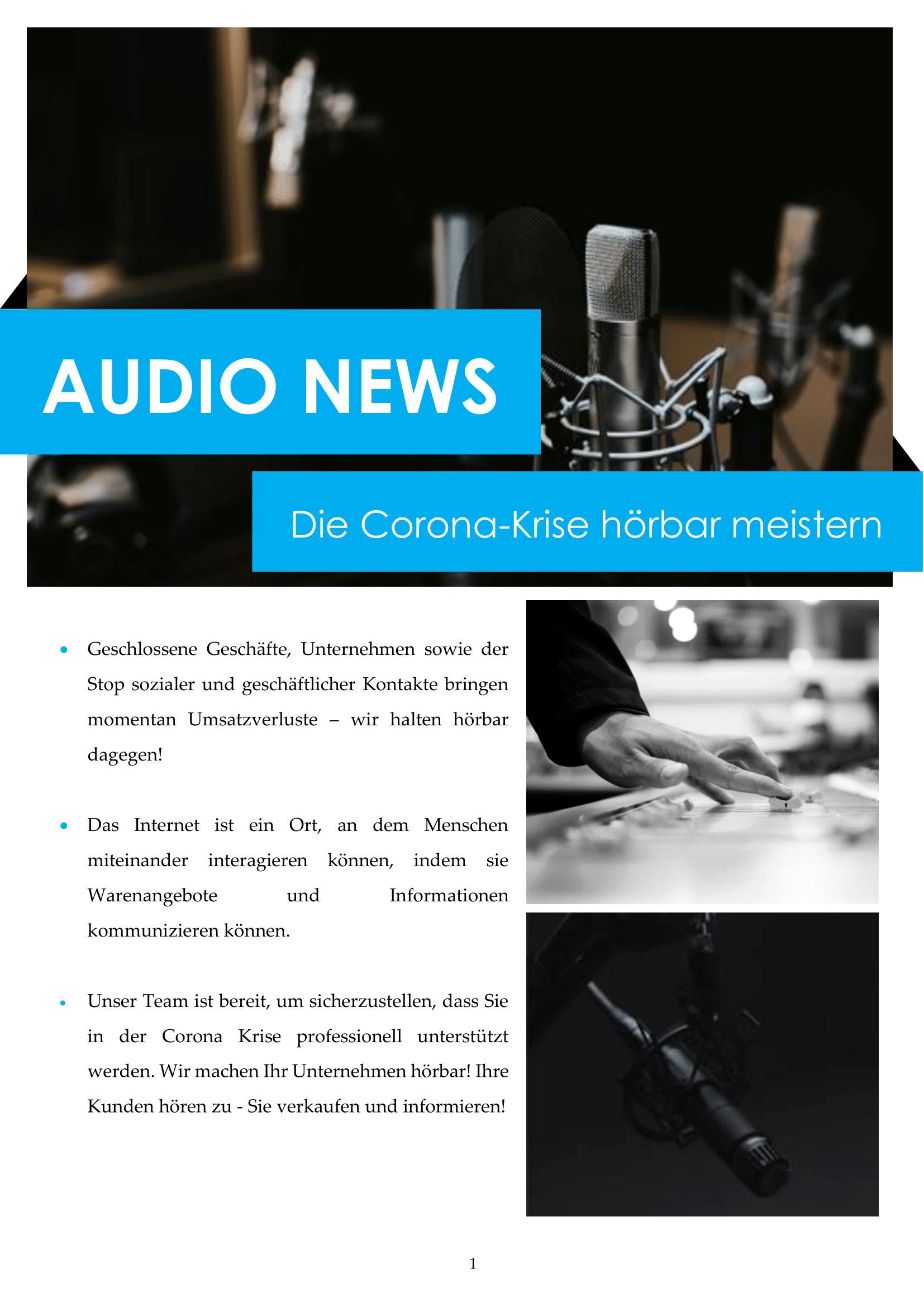 Audio News Service