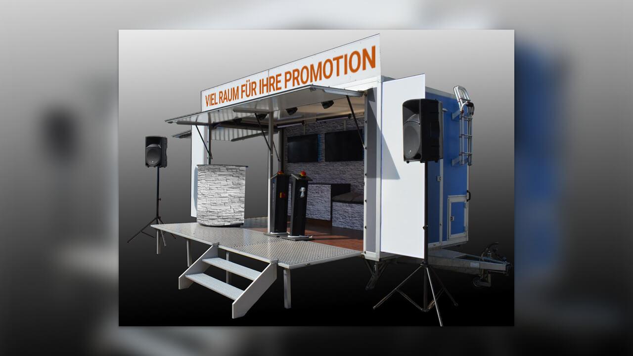 Radio Profis - Das Radiomobil für Ihre Promotion